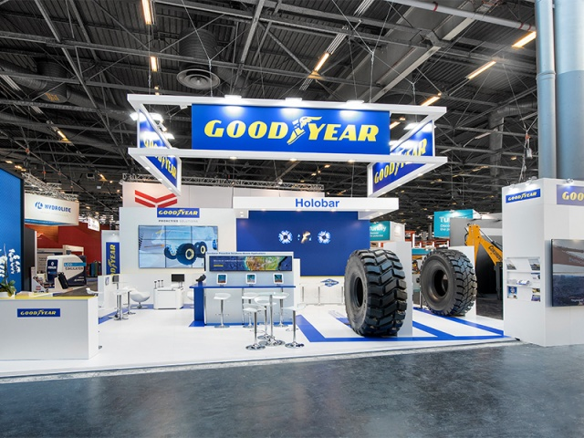Goodyear - Intermat - 132 m2